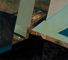 150 Paintings of June Harwood | Abstract Hard-Edge Artist | Untitled | 1998