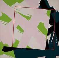 150 Paintings of June Harwood | Abstract Hard-Edge Artist | Rock Series | Pink floyd | 1982