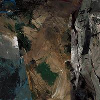 150 Paintings of June Harwood | Abstract Hard-Edge Artist | Migration Series | Nightseed | 1990
