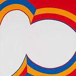 150 Paintings of June Harwood | Abstract Hard-Edge Artist | Colorform Series | Bullseye | 1964