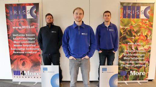 Coen Bukman, Engineering Ricardo de Roode, Vision programmeur Benjamin van Vuuren, PLC programmeur