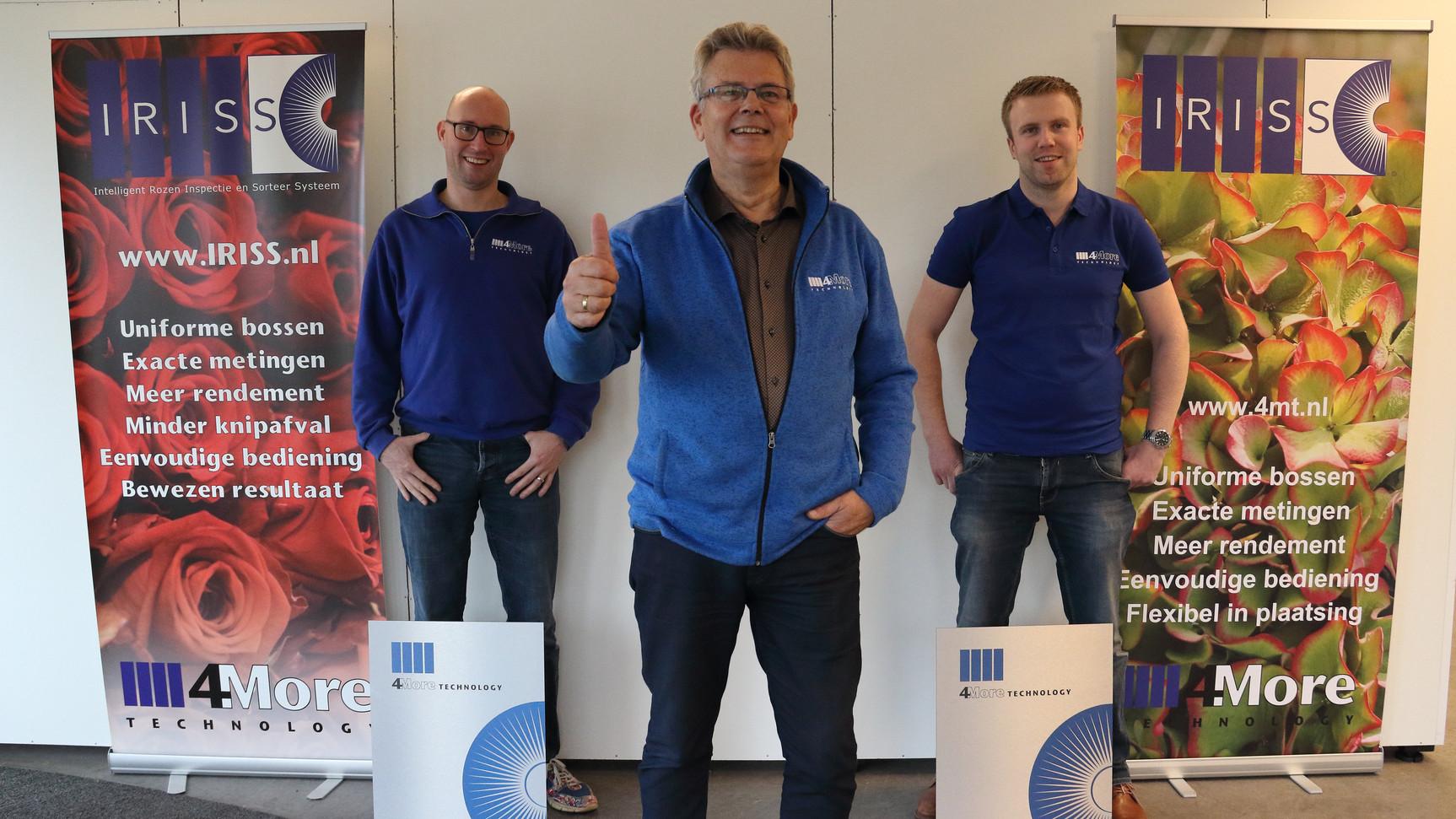 Tim van der Elst, Operations Manager Kees Bukman, Oprichter Wouter Vreugdenhil, Algemeen directeur