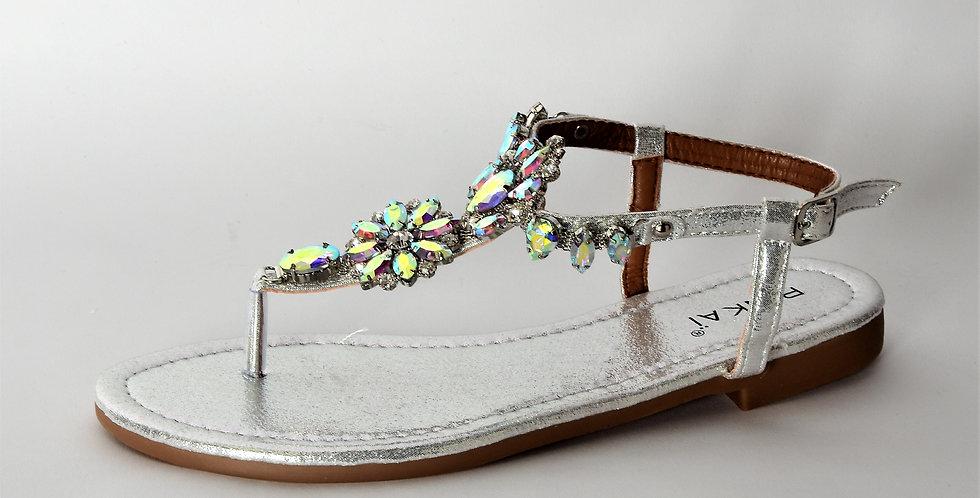P 859 sandalo strass