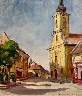La iglesia de Szentendre, 1931