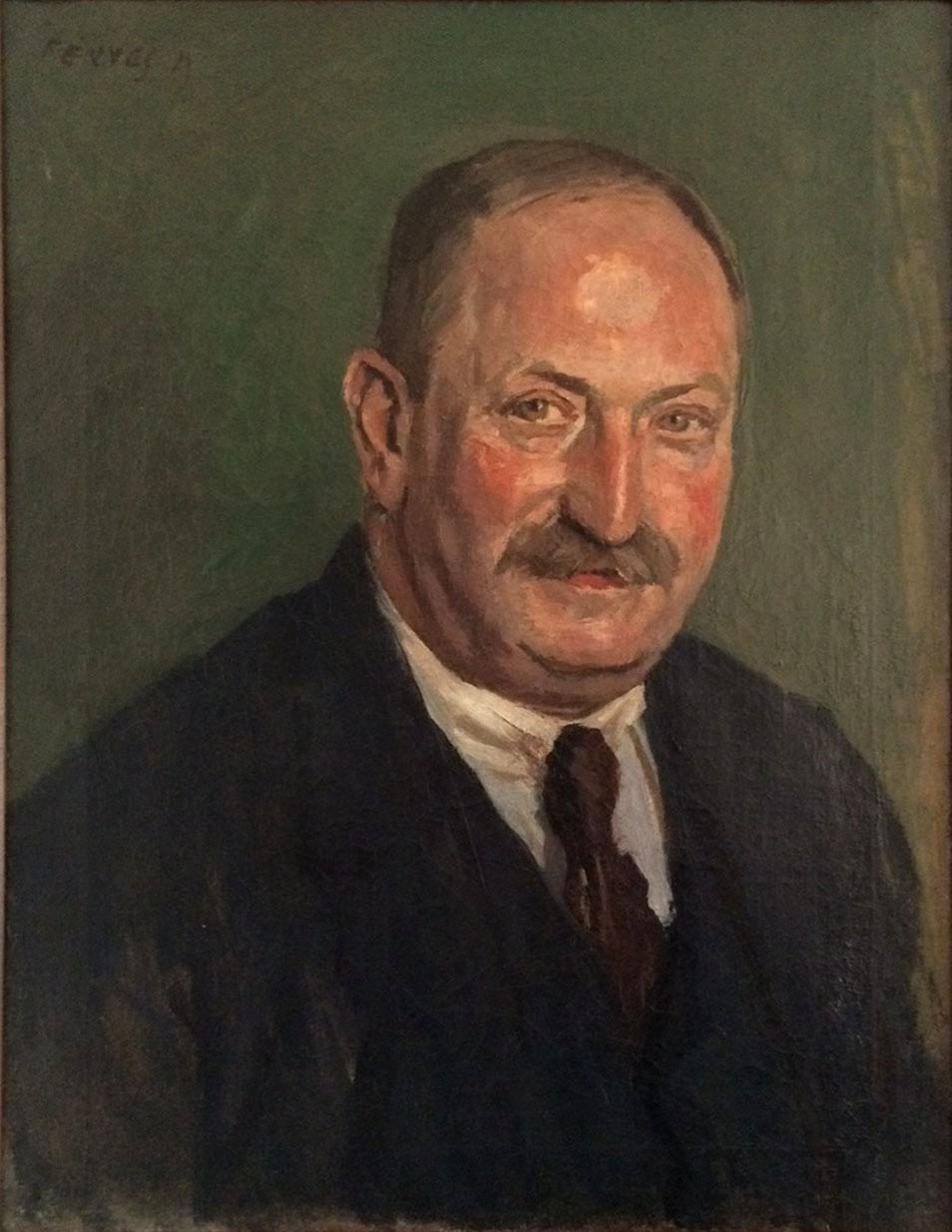 Fenyes: Adolf Retrato de padre