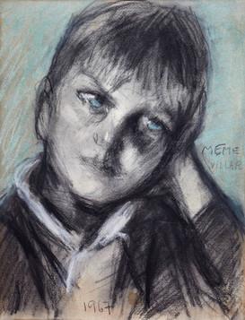 Daniel, nieto de la artista