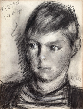 Nicolás, nieto de la artista, 1967.