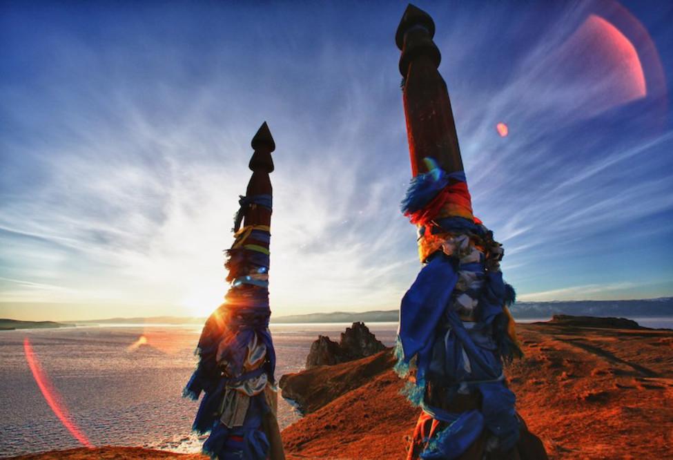 Солнце острова Ольхон
