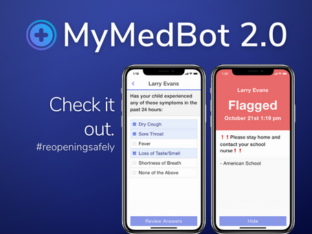 COVID-19 symptom tracking at your organization just got easier.