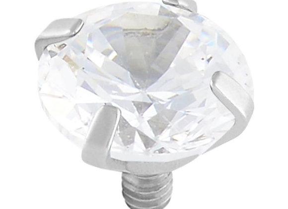 Crystal - Prong-set CZ attachment