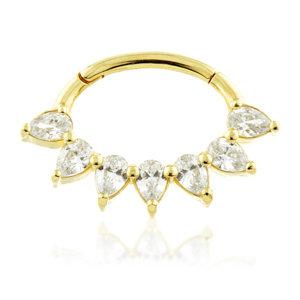 Swarovski Pear Ring - TISH LYON®