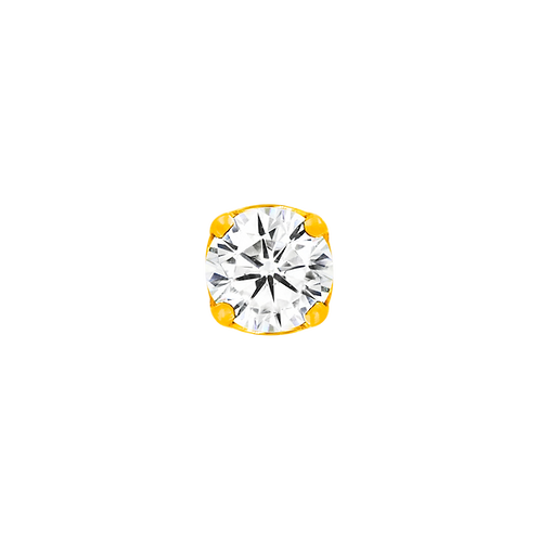 Prong-set Cubic Zirconia
