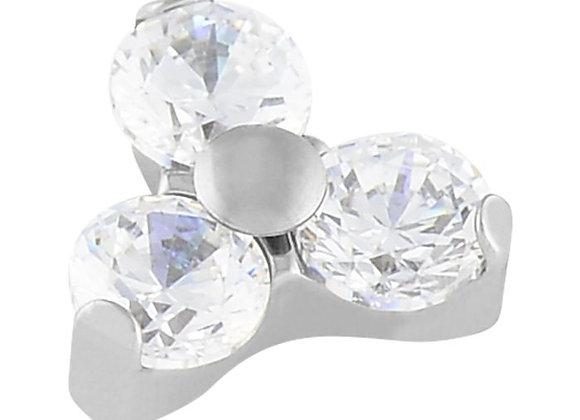 Crystal - Cubic Zirconia Trinity