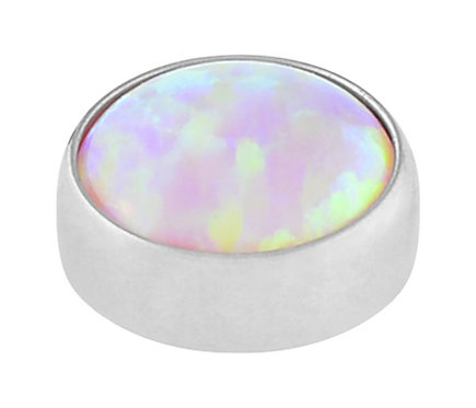 Angel Skin - Faux opal cabochon atattchment