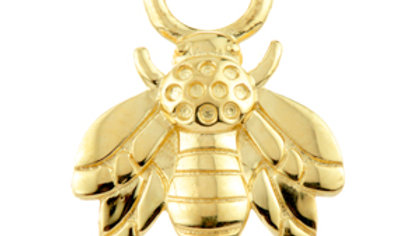 Gold Bumble-Bee Charm