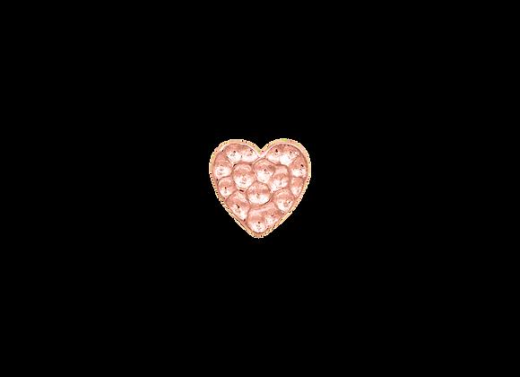 Hammered Heart - Junipurr Jewellery
