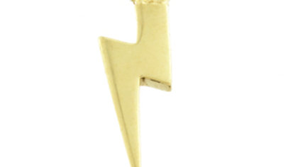 Gold Lightening bolt dangle charm