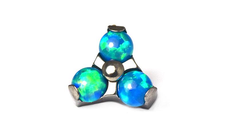 1.2mm Faux Opal trinity Attachment