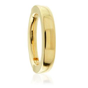 Gold Oval  - Rook/Tragus Clicker - TISH LYON®
