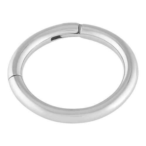 Titanium hinged hoop