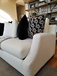 Tipping Rock Sofa Arm