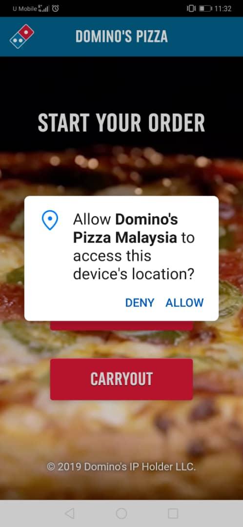 free dominos app