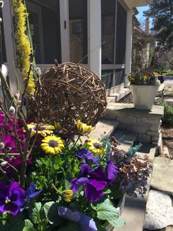 Residential Spring planter