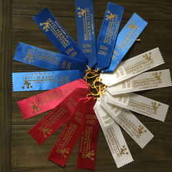 Lynn's ribbons for her perennial and
