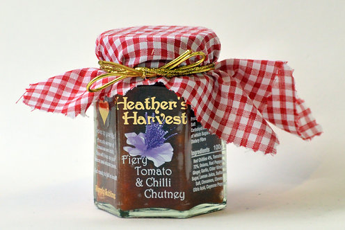 Fiery Tomato & Chilli Chutney. (Contains Chilli)