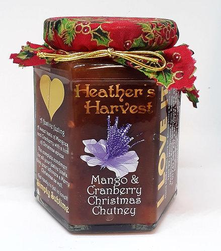 Mango & Cranberry Christmas Chutney