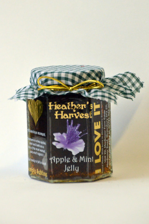 Apple and mint jelly 220g non GF