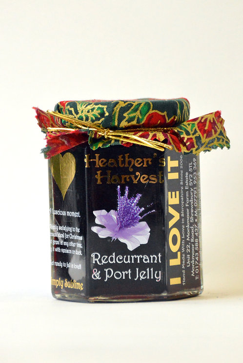 Redcurrant & Port Jelly, ( contains alcohol )