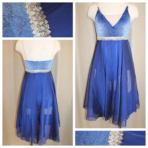 Blue Lyrical Dress