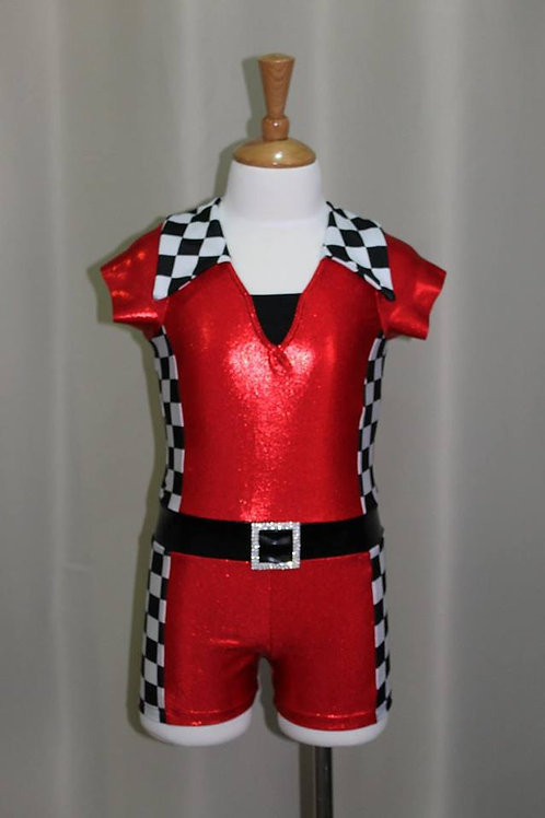 Car Racing Dance Costume