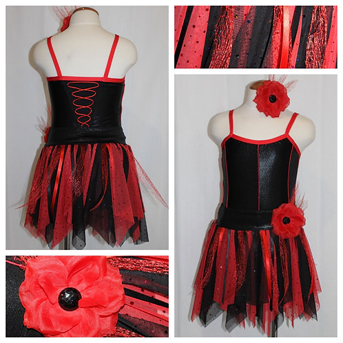 Red and Black Costume