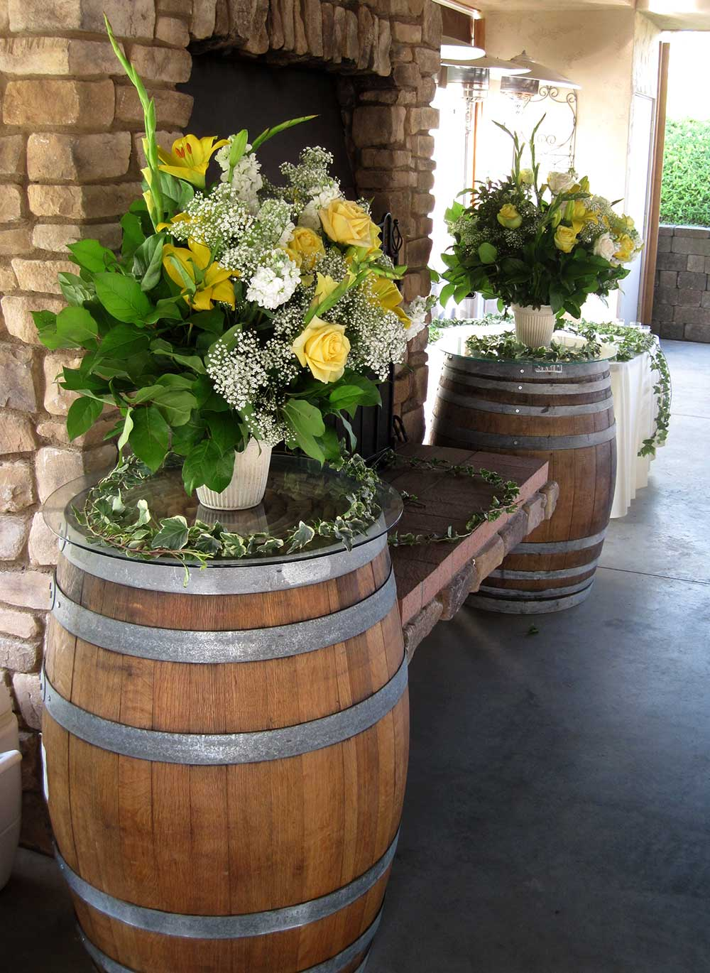Arrangement of Yellow Roses