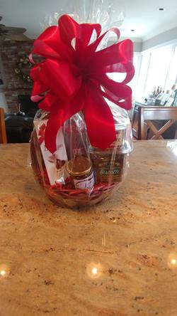 Flowers- Basket of Goodies