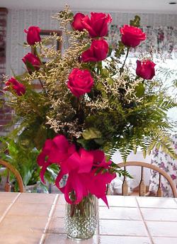 Valentine's Day Roses Arrangement
