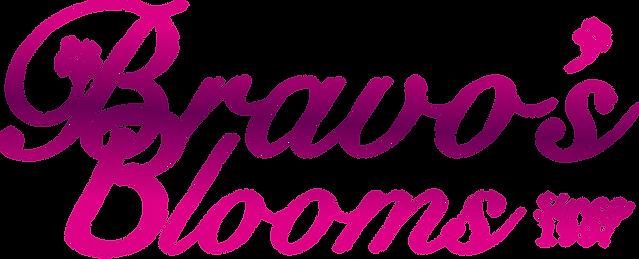 Bravo's Blooms Florist Logo