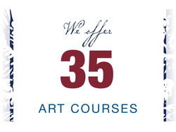 campaign front page number graphic35 art courses