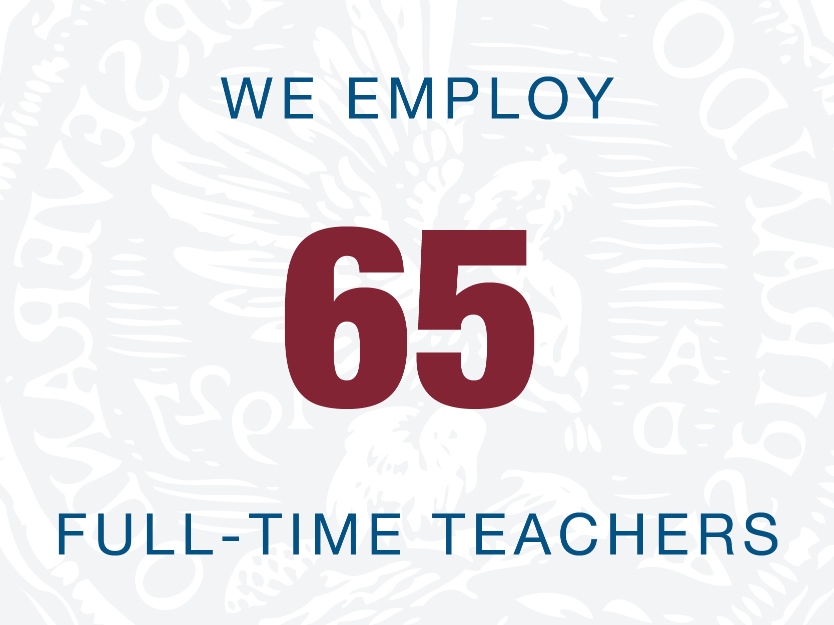 65 teachers webgraphic