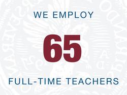 65 teachers webgraphic