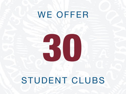 20 student clubs webgraphic
