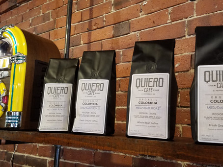 Quiero Cafe Opens in Pepperell Square!