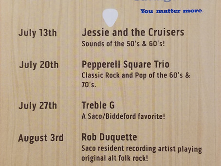 Our Summer Concert Series is Back!