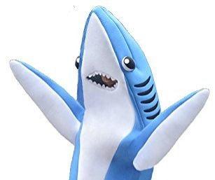 GROWN-UP SHARK APPEARANCE