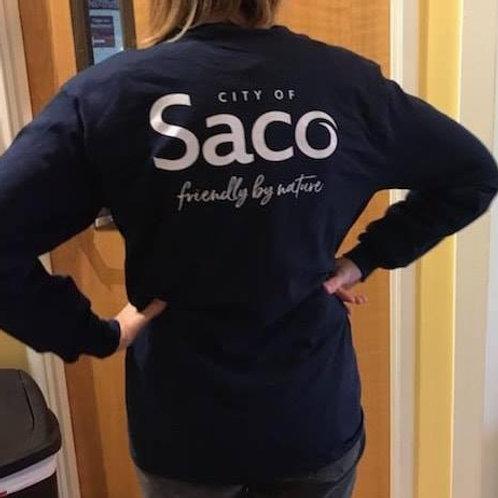 City of Saco Long Sleeve Tee