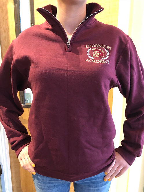 Thornton Academy 1/4 Zip Sweatshirt