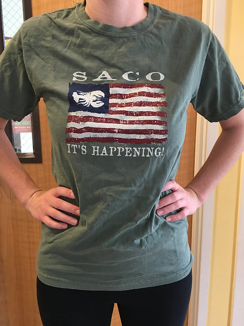 Saco...It's Happening! T-Shirt