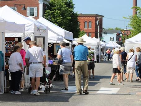 47th Saco Main Street Sidewalk Arts Festival is coming June 24th!